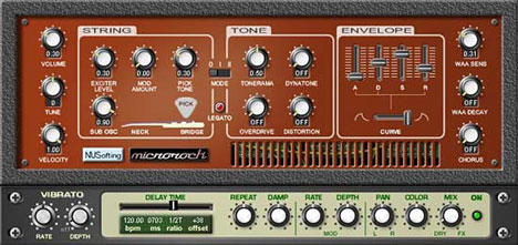 Plugin VST de Bass Microrock