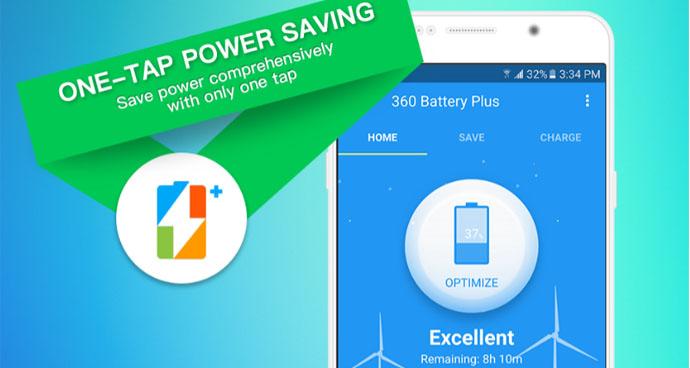 360 Battery app