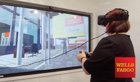 Réalité virtuelle à Wells Fargo