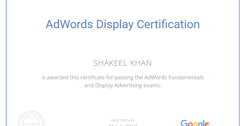 how to become google adwords certified