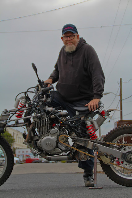 Alan Lapp Suzuki DR650