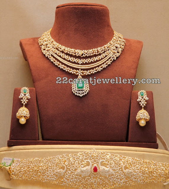 Diamond Set and Vaddanam