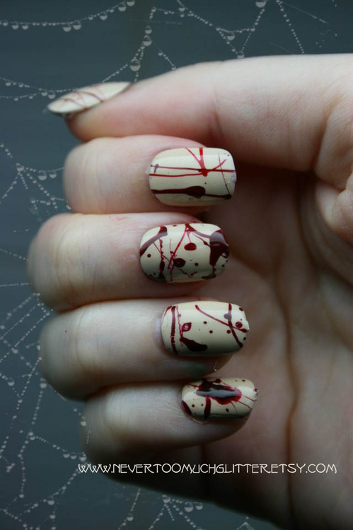 nails Halloween Nail Art