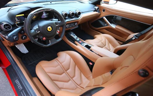 2016 interior Ferrari F12 Berlinetta