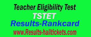 Telangana TSTET Halltickets Result Download