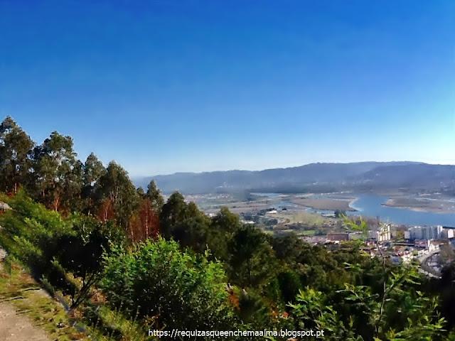 Panorama do monte de Santa Luzia, Viana do Castelo