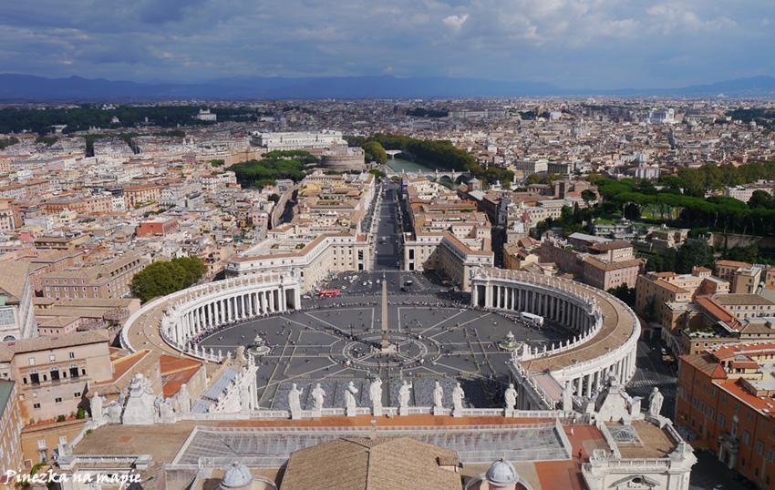 Watykan-widok z kopuły