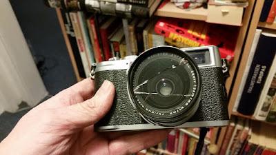 Fujifilm x100 and filter damage