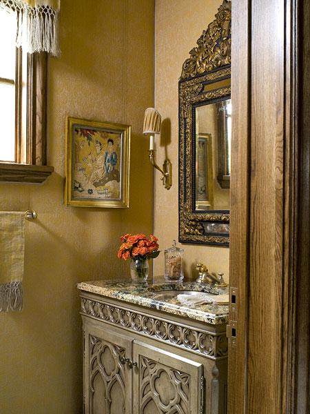 Half baths decorating ideas luxury designs 2013 houzzz - Half bath decor ideas ...