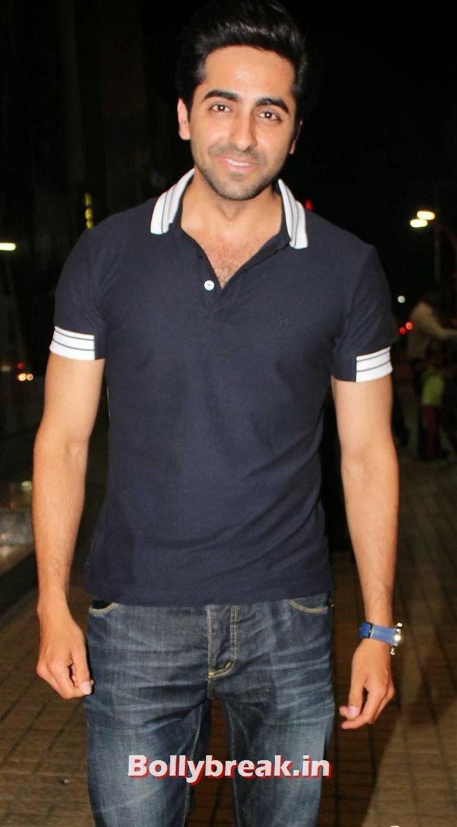 Ayushmann Khurrana, Gulaab Gang Movie Premiere Pics