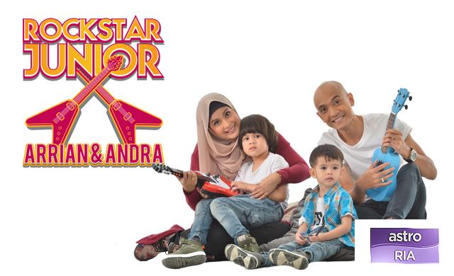 Rockstar Junior | Tomok, Arrian dan Andra