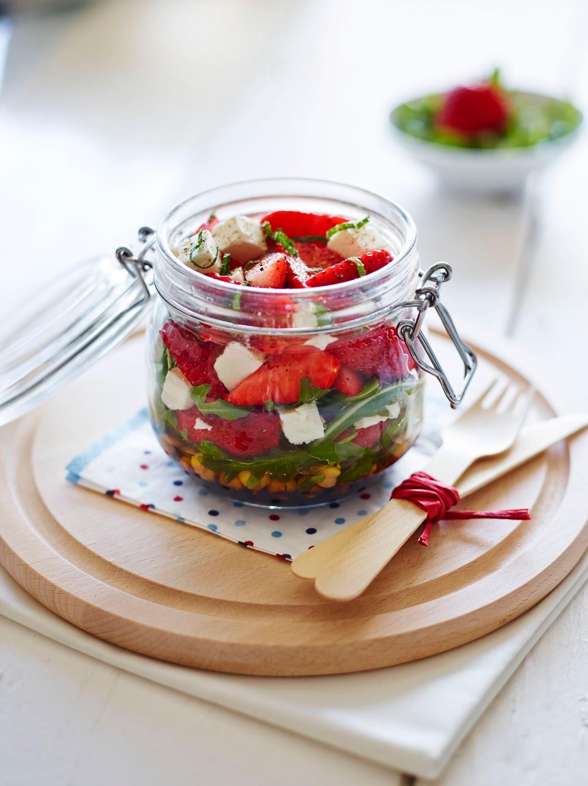 BerryWorld Strawberry Kilner Jar Salad...