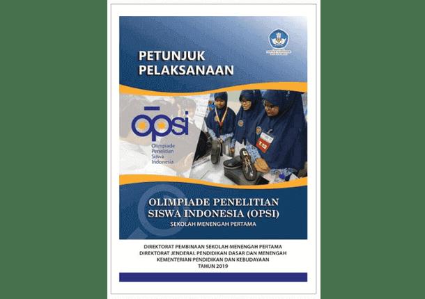 Juklak OPSI (Olimpiade Penelitian Siswa Indonesia) SMP Tahun 2019
