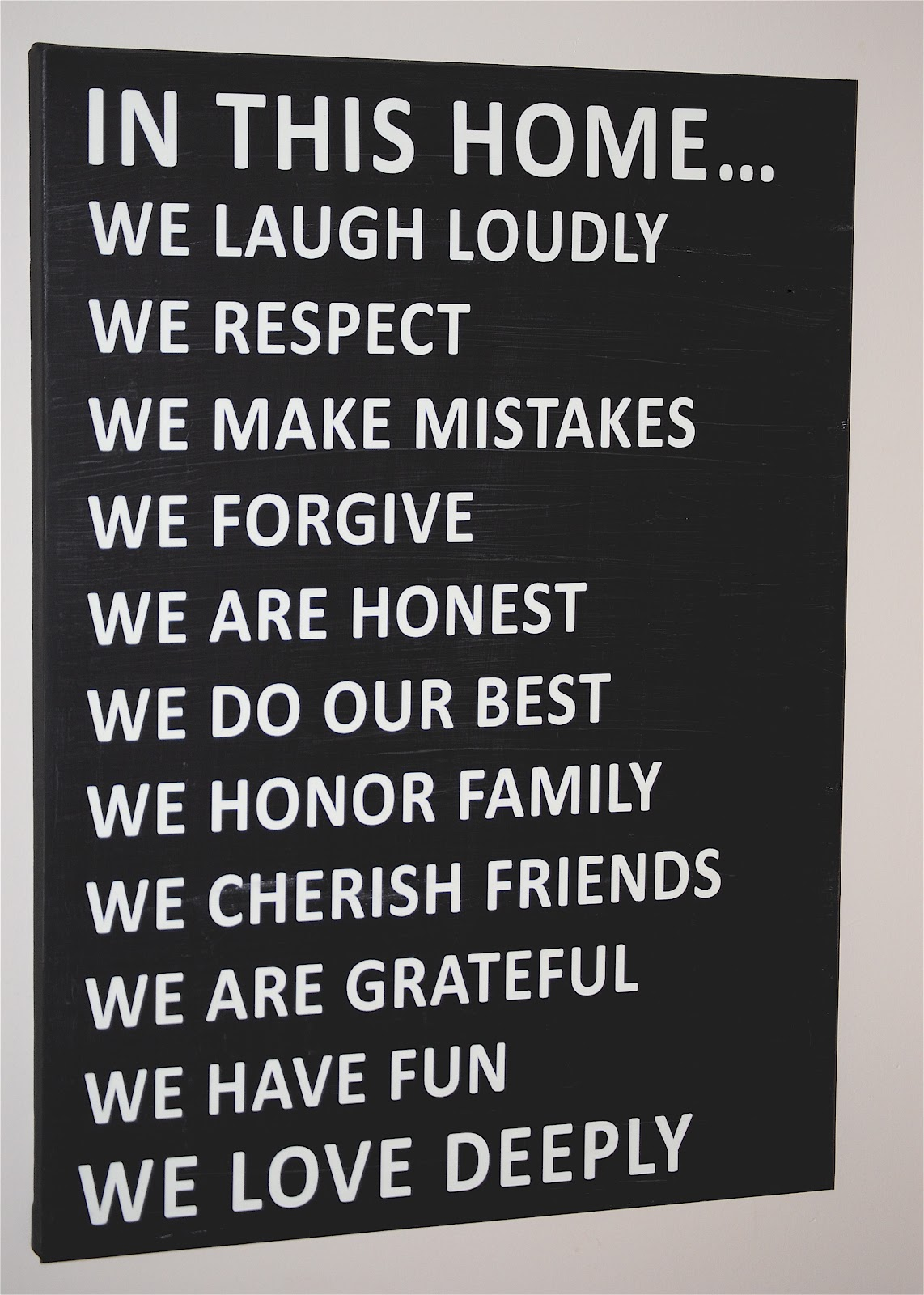 Family Rules Free Printable