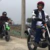 Presiden Jokowi Naik Trail di Muara Gembong