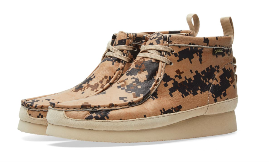 146748ae23112 Outdoor Approved: End X Clarks Wallabee GTX | SHOEOGRAPHY