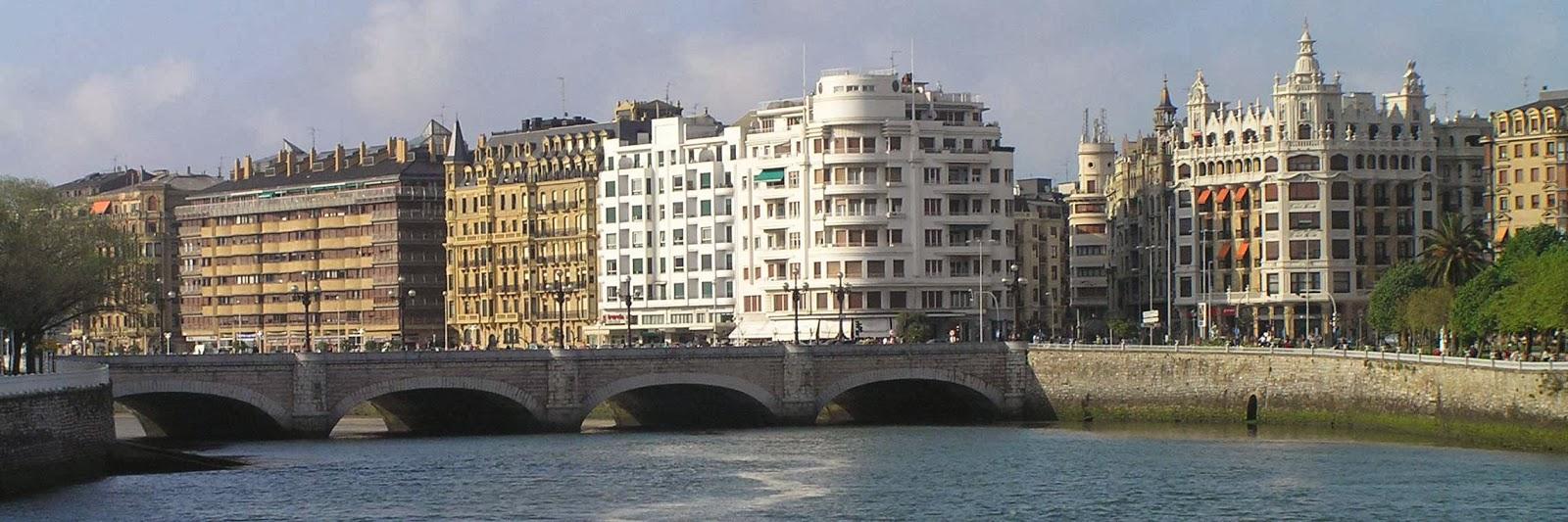 Puente de Santa Catalina de San Sebastián.
