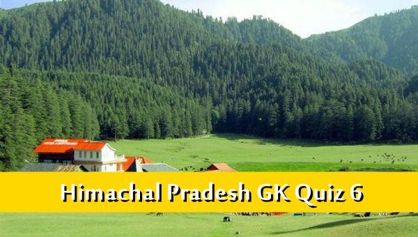 Himachal Pradesh Gk Quiz Online MCQ-6