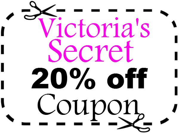 photo relating to Victoria Secrets Printable Coupons identified as Victorias Mystery 20% off Promo Code 2019 Printable