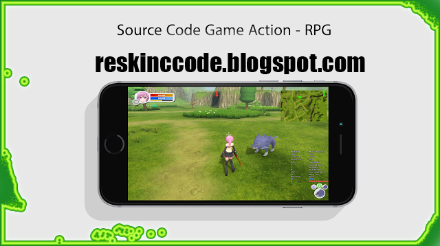 Unity3D - Source Code Game Action RPG free | ReskinCC