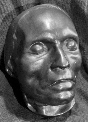 Beethoven's death mask by Josef Danhauser