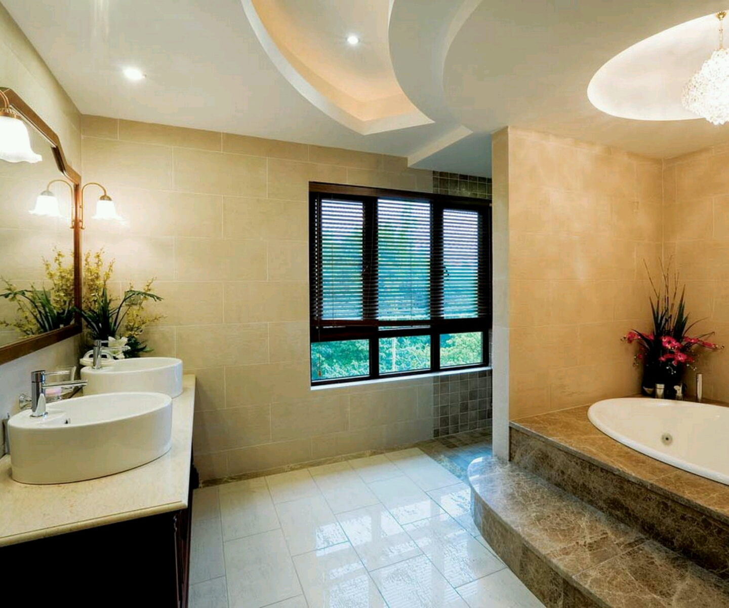 New home designs latest ultra modern washroom designs ideas for Washroom decoration ideas