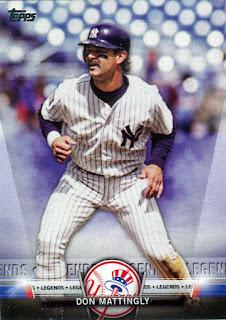 Don Mattingly Yankees Legends