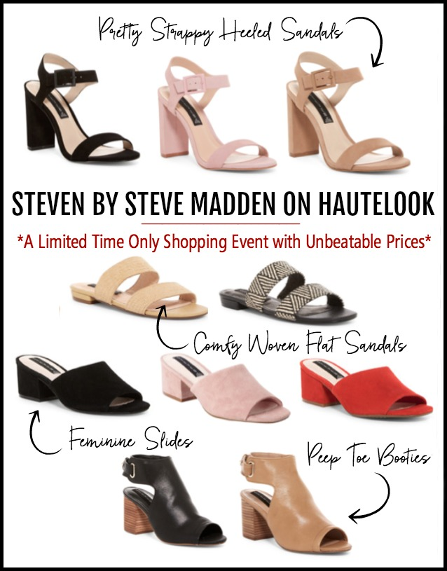 bb308130309 Limited Time Shopping Event | Steve Madden on Haute Look | Honey We ...