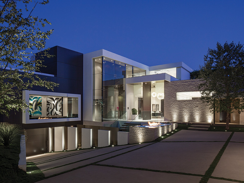 modern home in Beverly Hills