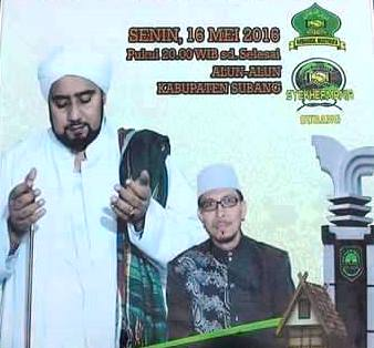 Subang Bersholawat Bersama Habib Syeck Bin Abdul Qodir Assegaf