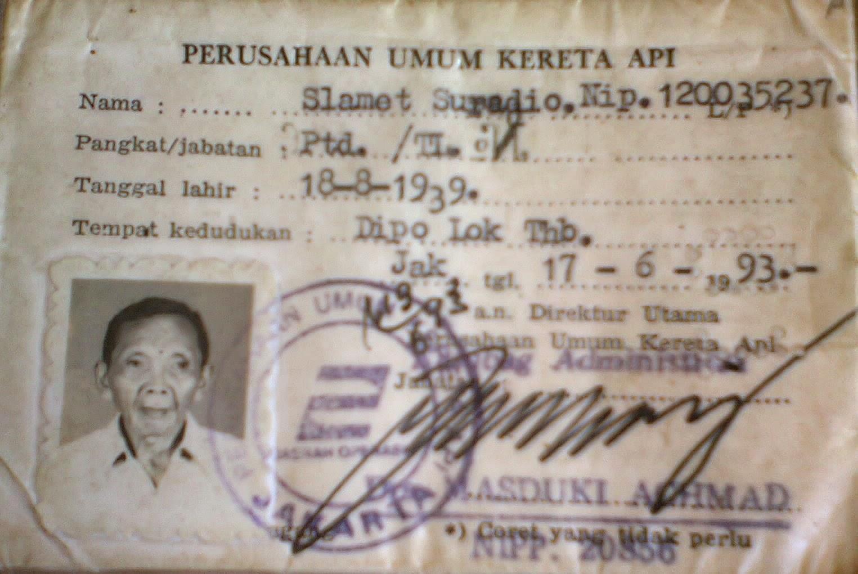 Bertemu Mbah Slamet Suradio (Masinis KA 225 Dalam Tragedi Bintaro Tahun 1987)
