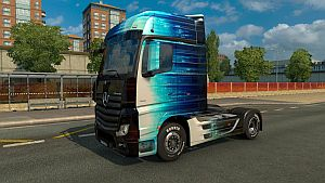 Abstract Lines skin for Mercedes MP4
