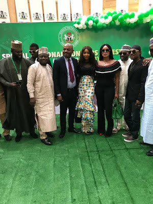 AGN President, Emeka Rollas Leads Nollywood To MKO Awards In Aso Rock