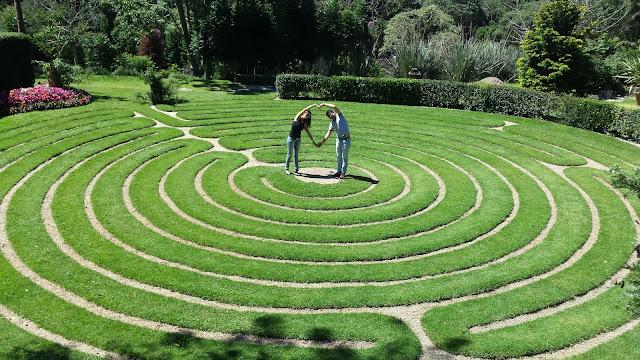 Jardins paisagismo, labirintos