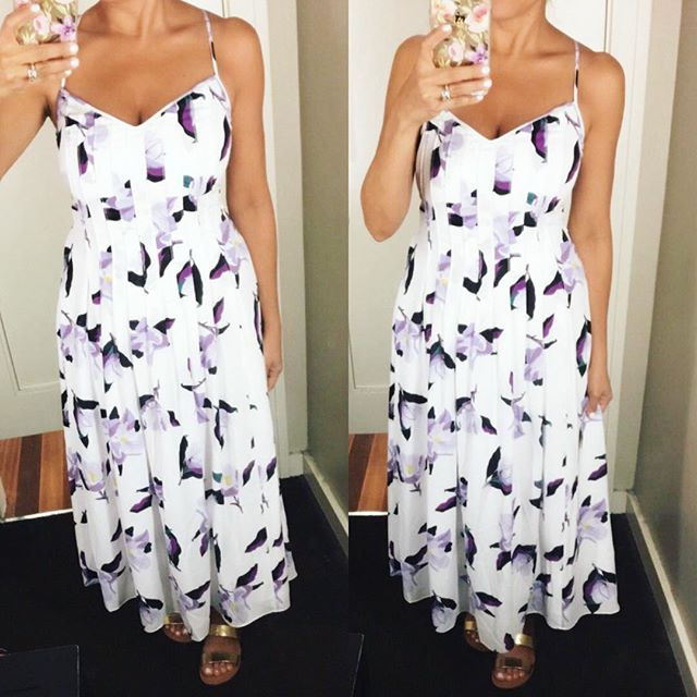Banana-Republic-floral-dress