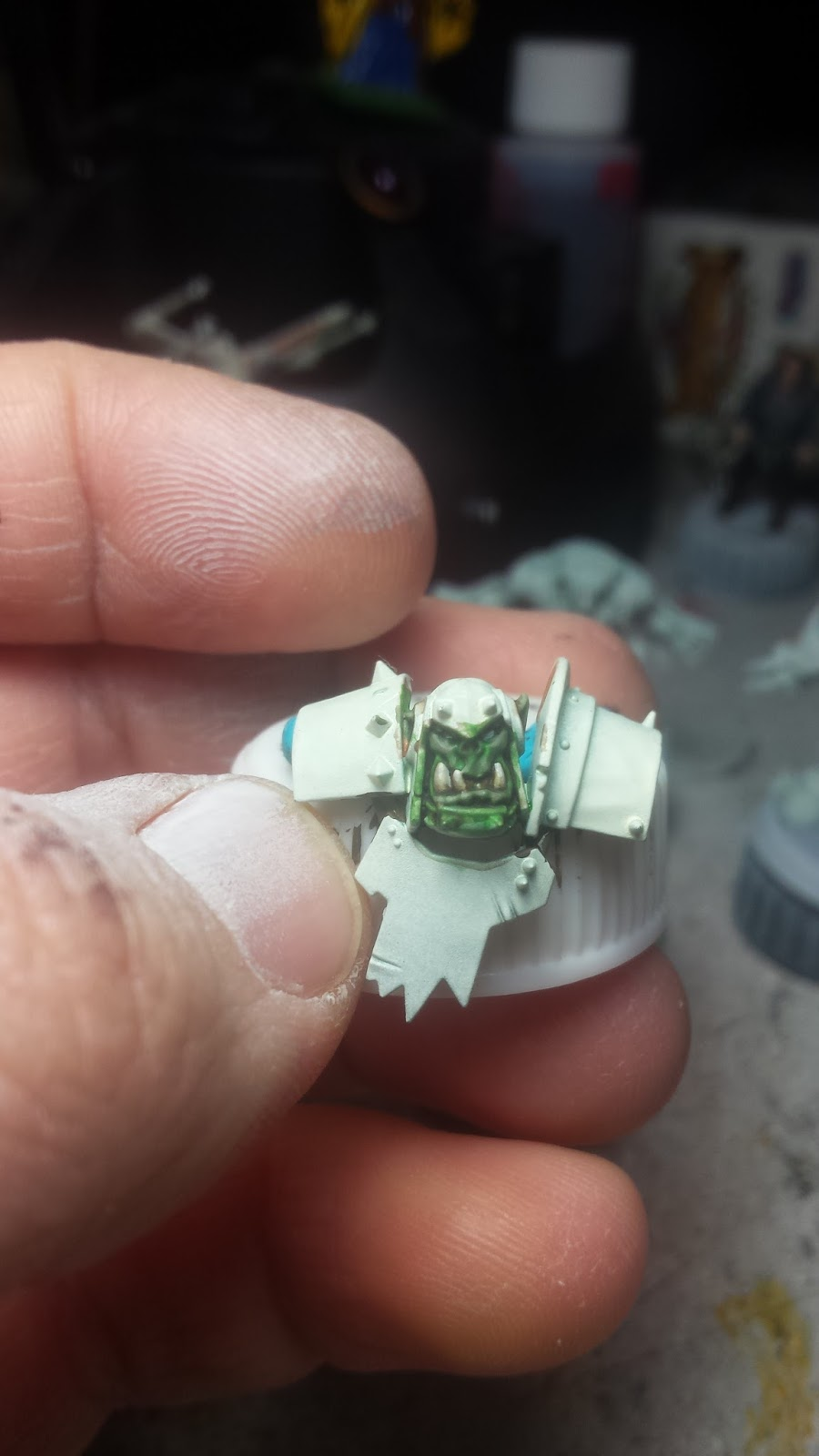 Brush Wizard: Blood Bowl: Starting on the Orc Team