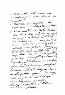 Atatürk-medeni bilgiler