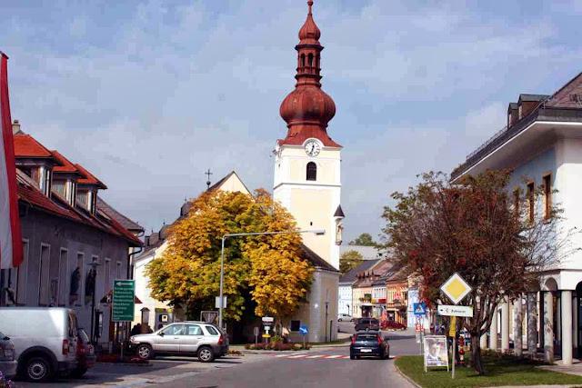 Herbstliche Kleinstadtidylle im Waldviertel © Copyright Monika Fuchs, TravelWorldOnline