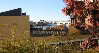 Brass Monkey, as seen from the Highline, New York City