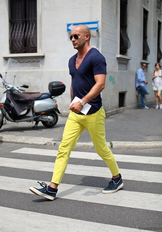 Verde Limão: Tendências de Cores para o Verão 2018 na Moda Masculina.