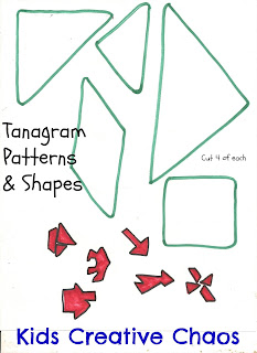 tangram traceable template