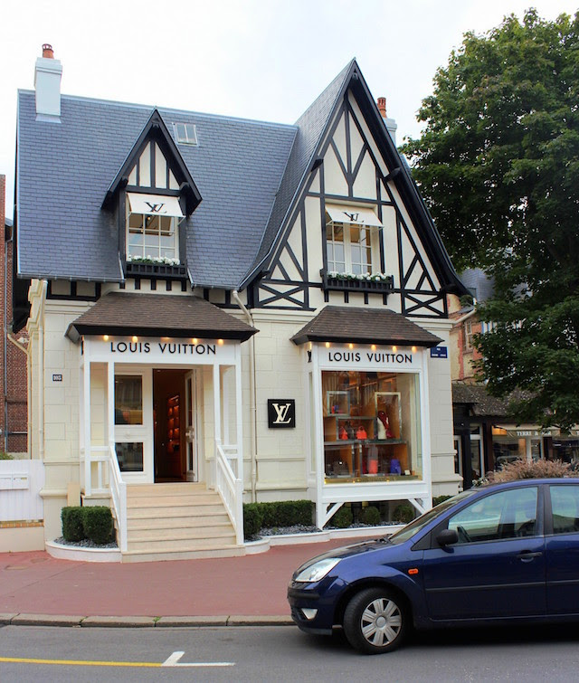 Louis Vuitton boutique in Deauville