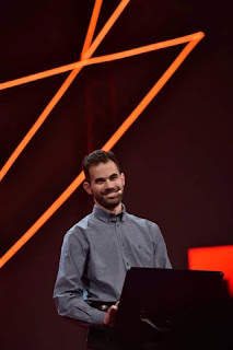 Ο Βαγγέλης Αυγουλάς μιλάει στο TedxAthens