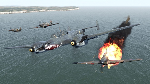 IL 2 Sturmovik Cliffs of Dover Blitz-screenshot03-power-pcgames.blogspot.co.id