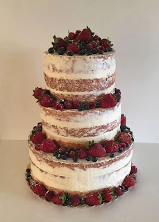 simple-3-tiered-strawberry-shortcake-wedding-cake