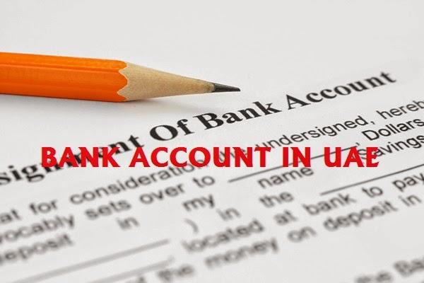 bank account in uae