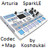 Arturia SparkLE Remote Codec