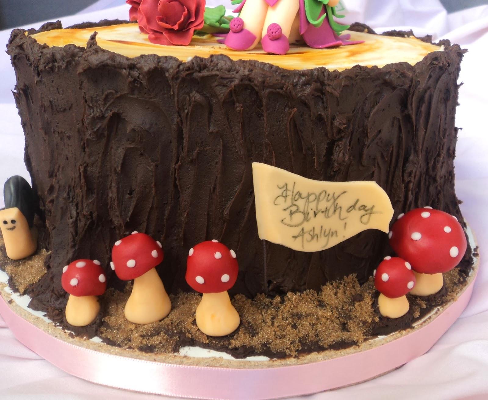 Delectable Cakes Woodland Fairy Birthday Cake