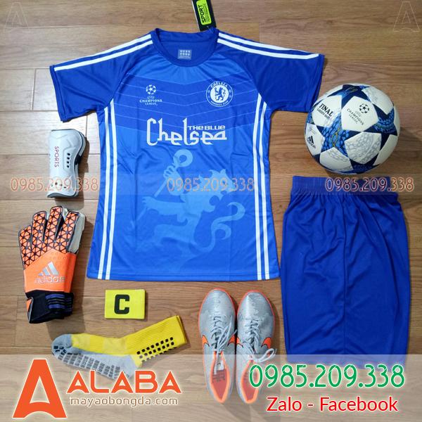 Áo đá bóng CLB Chelsea 2019 màu xanh dương mới