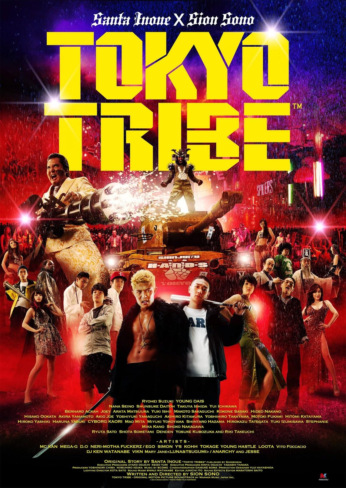 Tokyo Tribe (2014) ταινιες online seires xrysoi greek subs